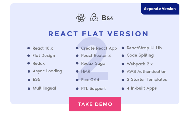 Download Jumbo React - React Redux Material BootStrap Admin Template